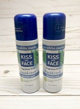 Lot Of 2 Kiss My Face Liquid Rock Roll-On Deodorant Fragrance Free Unsce... - $29.02