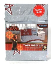 One Jay Franco & Sons Captain Marvel Super Soft 100% Polyester Twin Sheet Set - $31.99