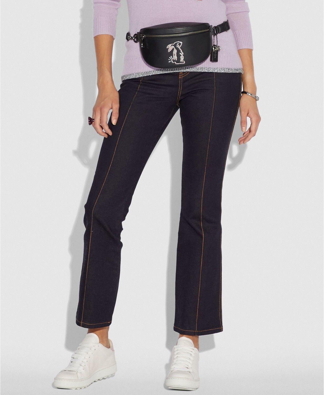 fff727f755 NWT COACH Selena Gomez Belt Bag Black Silver and 50 similar items