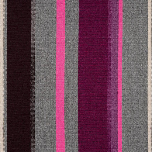 Knoll Upholstery Fabric Sherman Glacier Gray Purple Stripe 9.5 yds K17894 NO