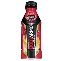 BODYARMOR Sports Drink Sports Beverage, Fruit Punch, 16 Fl Oz Pack of 12, Natura