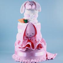 Ricki Rabbit Deluxe Diaper Cake Baby Gift - $188.00