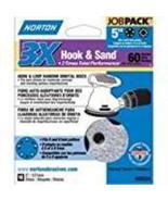 Norton 3X 5 & 8 Hole Universal Vacuum Abrasive Fiber Disc, Fiber Backing... - $7.99