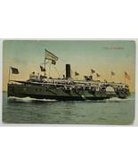 Old Divided Back Postcard City of Buffalo Steamship Cleveland & Buffalo ... - $14.65