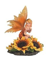 StealStreet SS-G-91652 Orange Winged Kneeling Fairy Attending To Sunflow... - €35,55 EUR