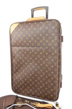 Authentic LOUIS VUITTON Pegase 55 Monogram Canvas Travel Rolling Suitcas... - $1,250.00