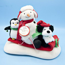 Hallmark 2007 Jingle Pals Snow What Fun Sledders VIDEO Animated Musical ... - $27.95