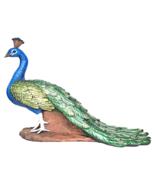 The Regal Peacock Garden Statue - Medium - $104.99