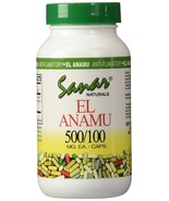 Sanar Naturals El Anamu 500mg/100 Caps - $29.65