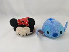 """Disney Tsum Tsum Lilo & Stitch Minnie Mouse Plush 3"""" Stuffed Animal toy Lot - $7.95"""