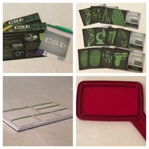 CSI Crime Scene Investigation Board Game Replacement Parts Pieces Choice Cards - $4.99