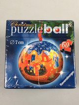 Ravensburger Christmas Puzzle Ball ornament kids stocking stuffer secret... - $14.61
