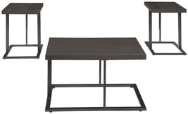 Ashley Furniture Signature Design - Airdon Contemporary 3-Piece Table Se... - €224,27 EUR