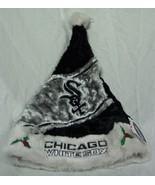 CHICAGO WHITE SOX MLB BASEBALL HOLIDAY CHRISTMAS SANTA HAT NEW - $14.85