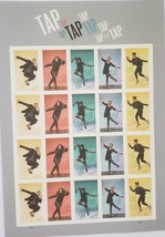 Tap Tap Tap Dance 2021 1st Class (USPS) FOREVER Stamps 20 - $15.95