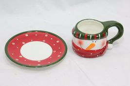 Snowman Xmas 4 Cups and 4 Saucers image 9
