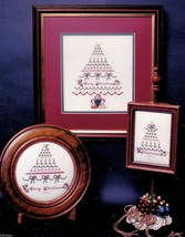 Victorian Elegance Donna Bradshaw 1989 Kit Christmas Tree Variations CrossStitch - $17.49