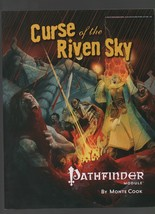 Curse of the Riven Sky - Pathfinder Module - Monte Cook - Level 10 - SC ... - $9.80