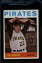 1964 Topps #307 Joe Gibbon Ex+ Pirates - $0.98