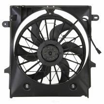 RADIATOR A/C SINGLE FAN ASSEMBLY FO3115161 FOR 01-12 FORD RANGER FRONT MOUNT A/T image 2