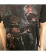 Röyksopp Band Concert Tour Hooligan Shirt Unisex XL Made In USA Black Gr... - $24.18