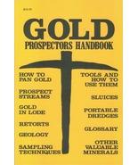 Gold Prospector's Handbook - $10.95