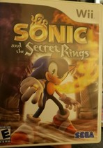 Sonic and the Secret Rings (Nintendo Wii, 2007)  - $5.00