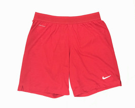 New Nike Vaporknit Lightweight Soccer Training Short Men's Medium Red AQ... - $38.60