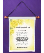 A Mother Just Like You - Personalized Wall Hanging (677-1) - $18.99