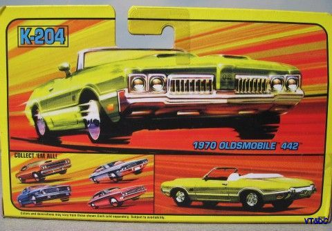 ~ 1970 Oldsmobile 4-4-2  - Matchbox Super Kings K-204 diecast
