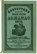 Hostetter's Illustrated United States Almanac 1899 bitters patent medici... - $15.00