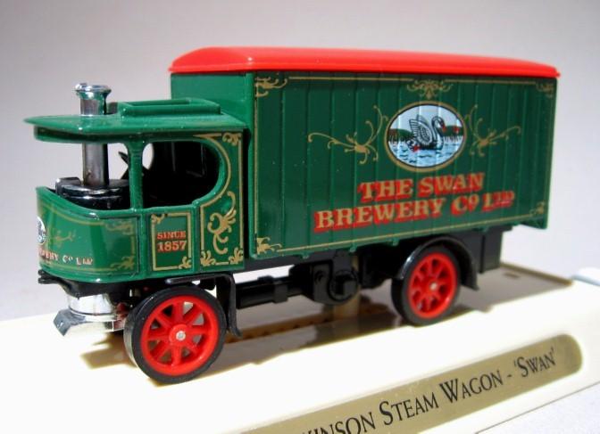 ~ Cascade & Swan Beer - Matchbox 1931 Morris Truck