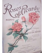 Vintage Sheet Music Roses of Picardy by Weatherly & Wood 1916 - $7.99