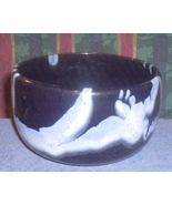 Blue Mountain Pottery Granite Navy Blue White P... - $40.46