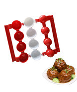Newbie Meatballs Mold Stuffed Fish Meat Balls Maker Homemade Mould DIY K... - $17.63 CAD