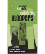 Celebrity Bloppers Bob Hope Best 30 Years Outtakes Ad-Libs Missed Cues VHS - $10.00