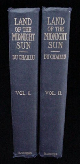 The Land Of The Midnight Sun Du Chaillu 1881 Book Set