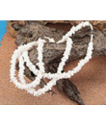 Necklace Puca Shell White - $1.99