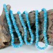 Puca shell necklace blue
