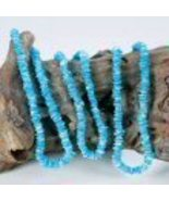 Necklace Puca Shell Blue - $1.99