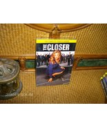 THE CLOSER-COMPLETE-STELLAR  4TH  2008 SEASON FOUR DVD  SET IN FACTORY CASE - $9.99