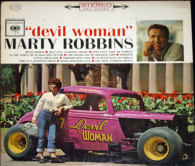 Marty robbins  devil woman  cover