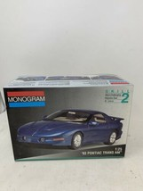 Vintage 1993 Monogram Pontiac Trans Am Model Car Kit # 2965 - 1/25 - Fir... - $24.18