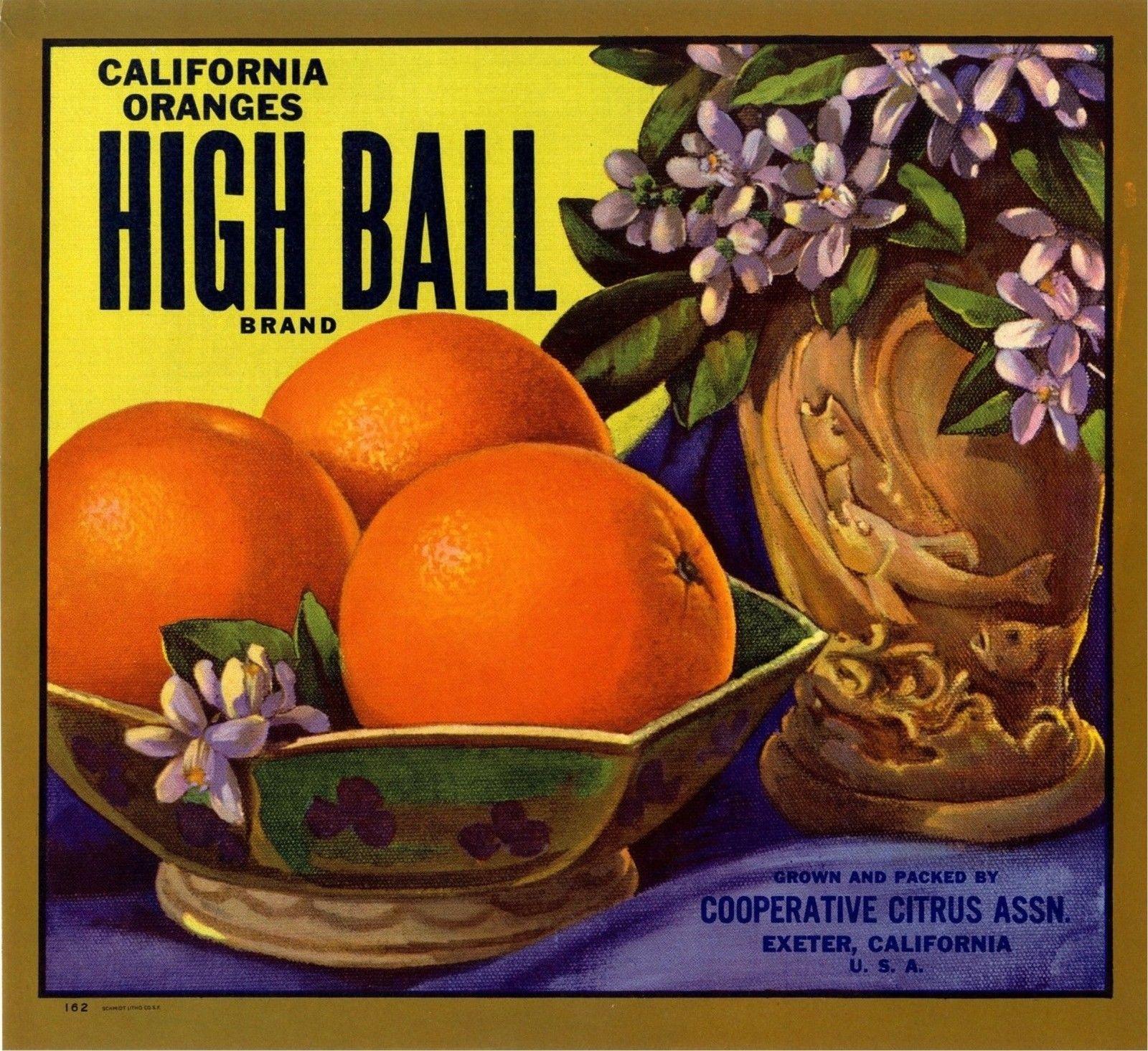 Clermont Florida Lake Minnehaha Orange Citrus Fruit Crate Label Art Print