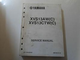 2007 Yamaha XVS13AW C (C) XVS13CTW (C) V Star Servizio Negozio Manuale di - $132.72