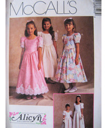 McCalls 8640 New Pattern Girls 7 to 10 Dress Flower Girl - $8.95