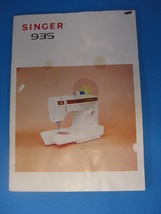 SINGER MODEL 935 INSTRUCTION MANUAL - $25.00