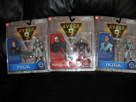 1999 Xyber 9  Lot Of 3 Carded Figures - $34.99
