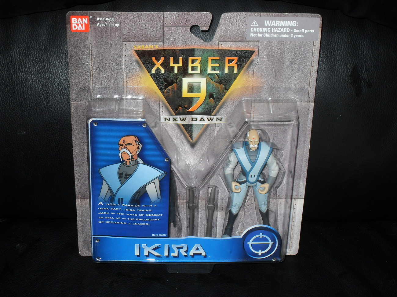 1999 Xyber 9  Lot Of 3 Carded Figures