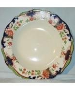 "Royal Doulton D3007 Temple Green Large Rim Soup or Salad Bowl 9 1/2"" - $79.09"